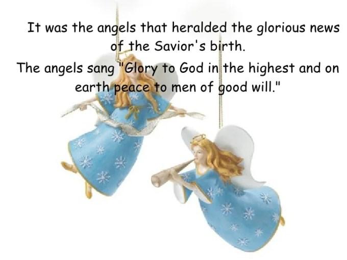 Christmas Symbols Angel Meaning Christmaswalls