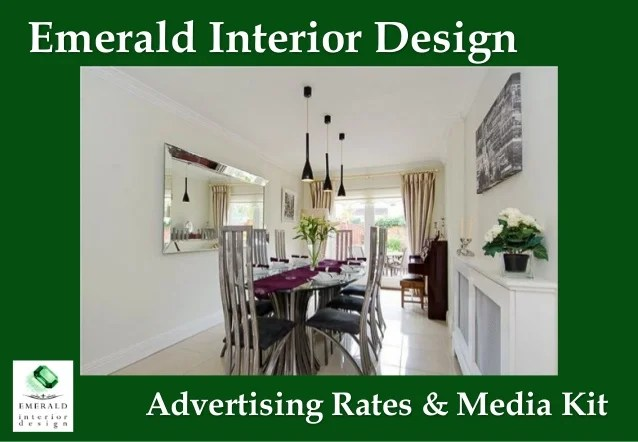 Interior Design Advertising Rates