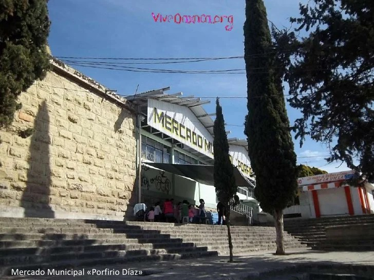 Mercado y calles de Etla - Oaxaca