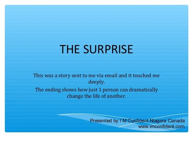 The Surprise - Kyle, a Story of Suicide