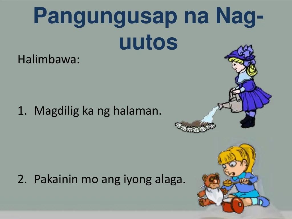 Mga Uri Ng Pangungusap Ayon Sa Gamit Filipino I