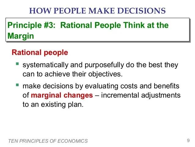 Principles Economics Principle 1