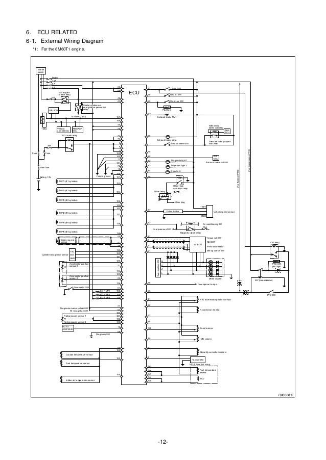 2001 mitsubishi fuso wiring diagram