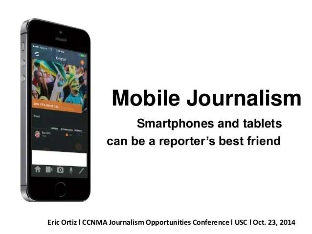Jurnalisms Seluler - Mobile Journalism
