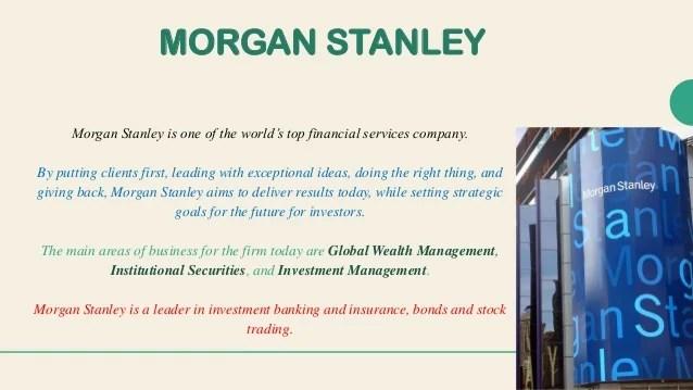 Morgan stanley case