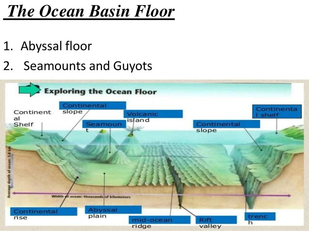 Morphology Of Ocean Floor