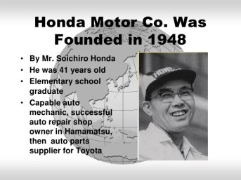 Image result for 1948 – The Honda Motor Company is founded
