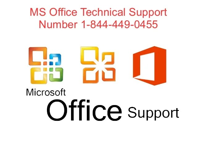 MS Office Technical Support @ 1-844-449-0455 @ Phone ...