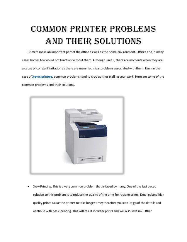 Multifunction printer xerox