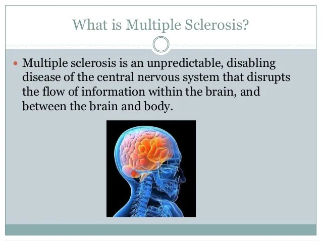 Ms Multiple Sclerosis Life Expectancy