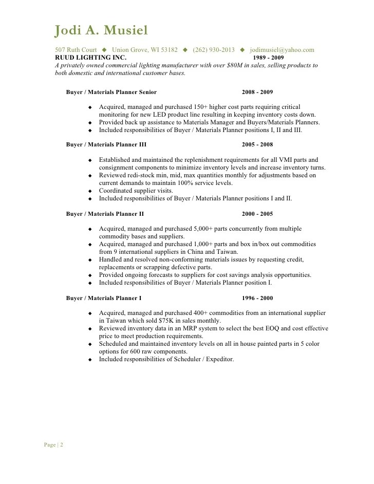 Media Buyer Resume Resume Retail Template Media