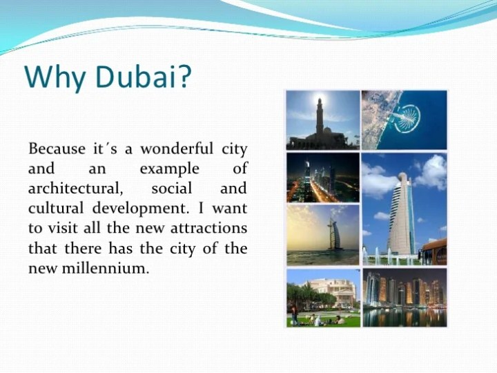a vacation to dubai essay Looking for some tips before your trip to dubai check out these easy to  remember dubai travel tips for a safe & fun vacation.