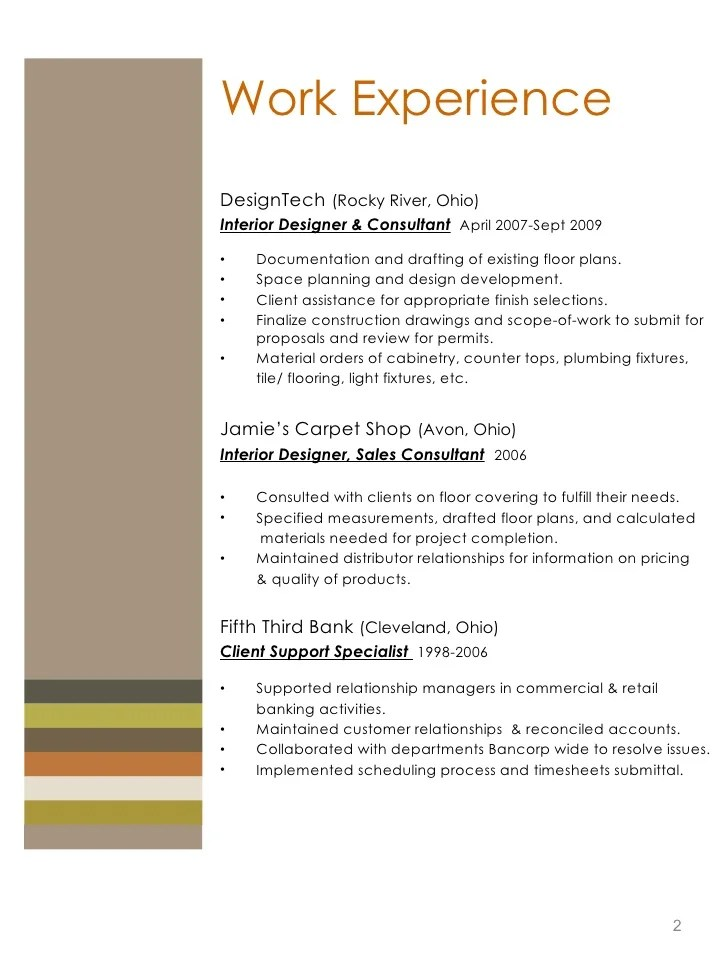 Interior Design Work Experience Placements London
