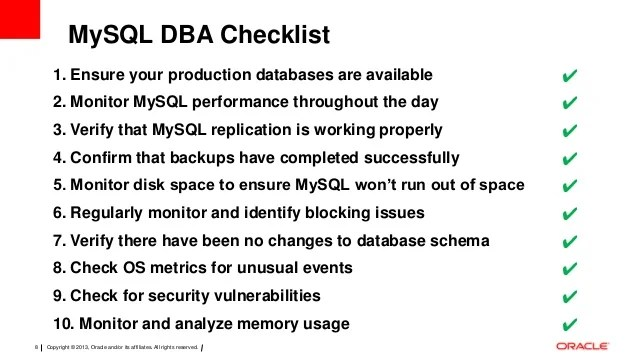 Database Security Audit Checklist