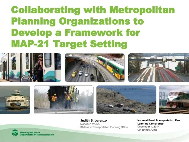 Fundamentals of Regional Transportation Planning Organizations in Wa        45