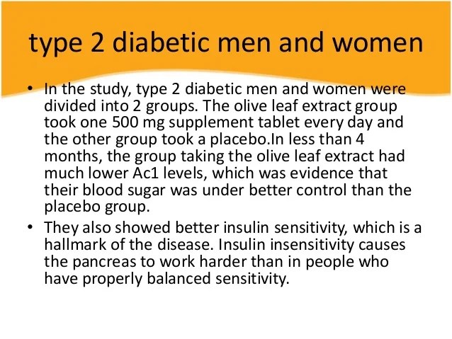 2 Diabetes Ac1 Levels Type