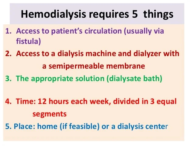 Good Hemodialysis Fistula