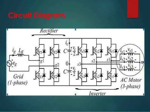 Single Phase To 3 Converter Diagram