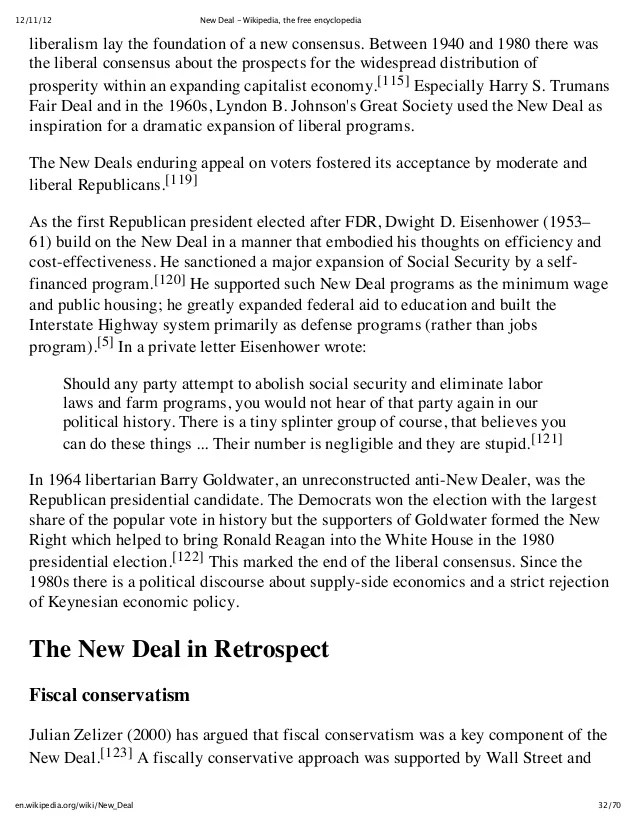 New deal wikipedia, the free encyclopedia