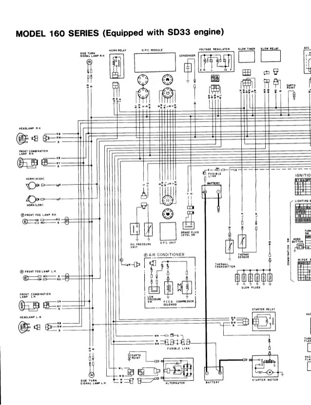 Nissan Sd33 Engine Diagram Nissan Td27 Engine Wiring Diagram ~ ODICIS