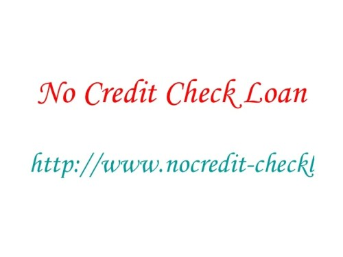 overnight loan no credit check