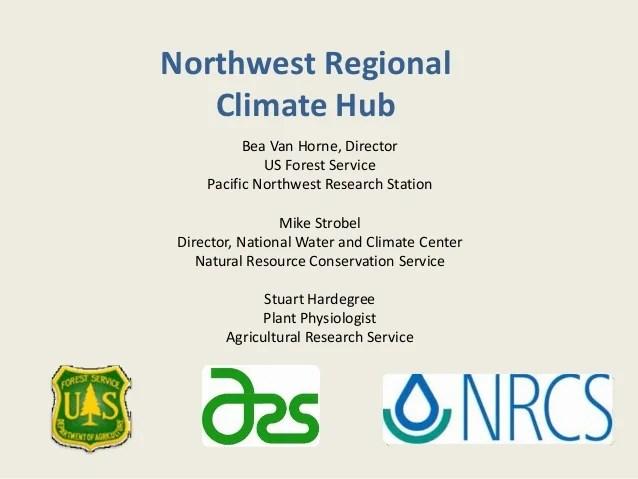 Northwest Regional Climate Hub
