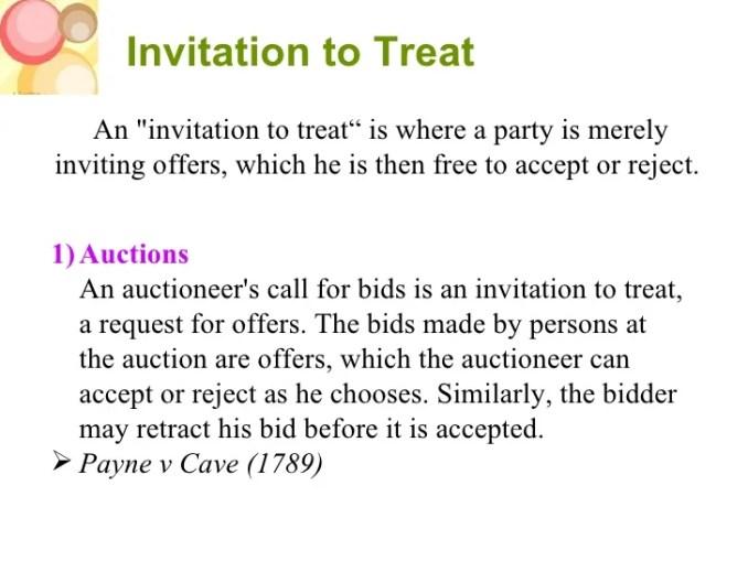 Invitation to treat definition australia newsinvitation invitation to treat stopboris Images