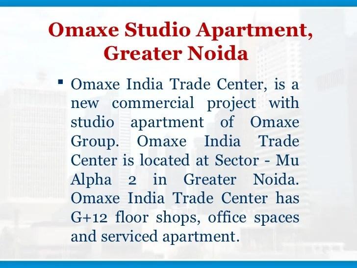 9911313625% ! Omaxe India Trade Center, Omaxe Itc Studio