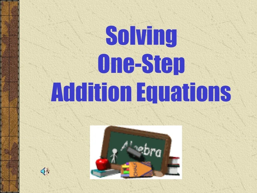 One Step Equations For 6th Grade Positive Numbers
