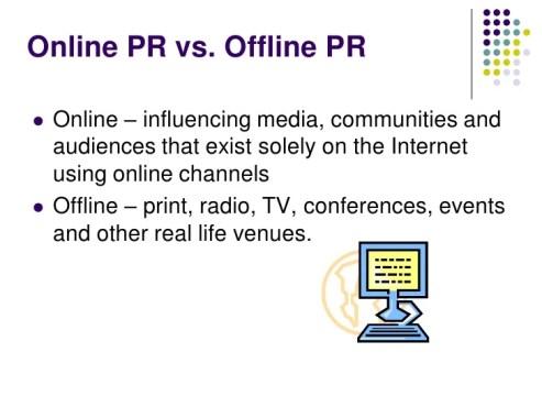 humas online vs offline