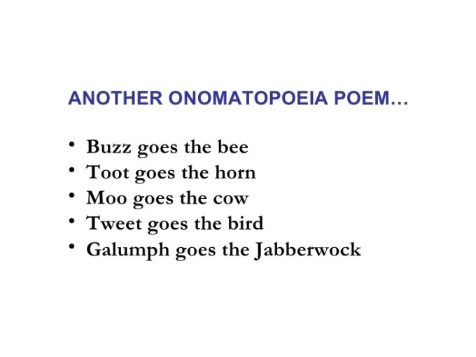 Example Of Onomatopoeia Poem Image Collections Example Cover