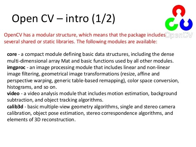 Computer Vision Introduction