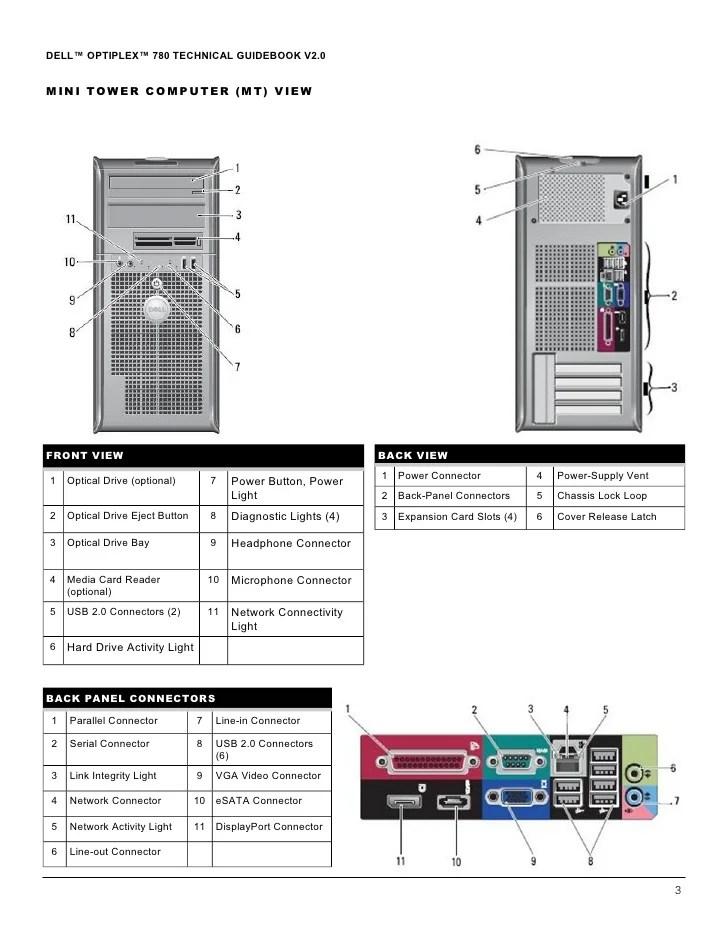 Optiplex 780techguide