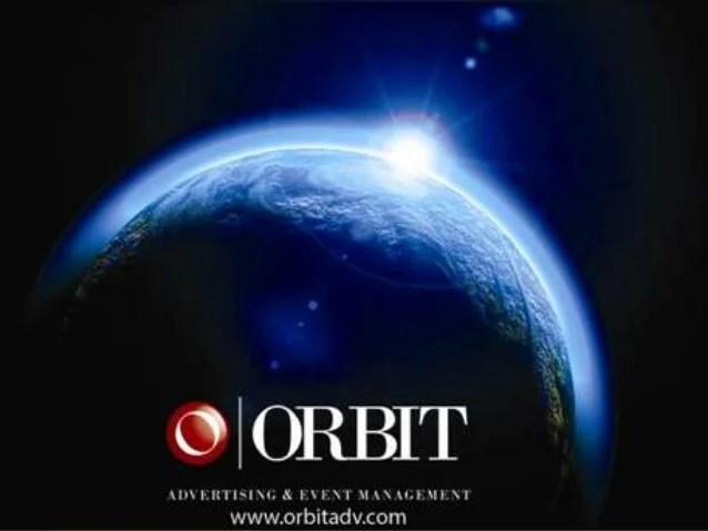 Image result for orbit advertising