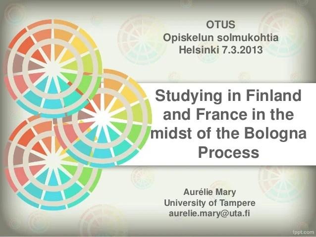 Opiskelijatutkimuksen päivä 2013: Otus he in fi & fce 7.3.13
