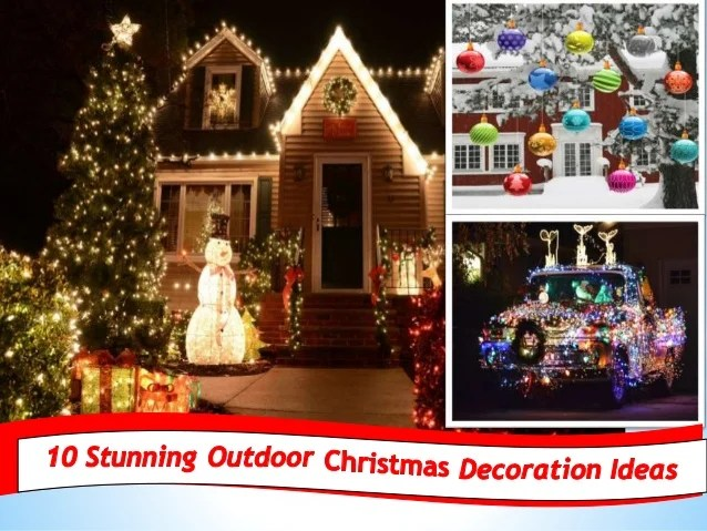 10 Easy Outdoor Christmas Decorating Ideas 91 9717473118