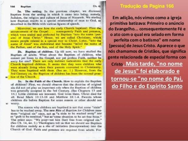 Batismos segundo as Escrituras Atos 2:38 Pedro então lhes respondeu: Arrependei-vos, e cada um de vós seja batizado em nom...