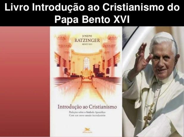 Livro Introdução ao Cristianismo do Papa Bento XVI