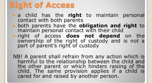 The Rights Of The Non-Custodial Parent