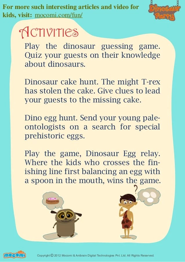 Cake Pattern T Rex