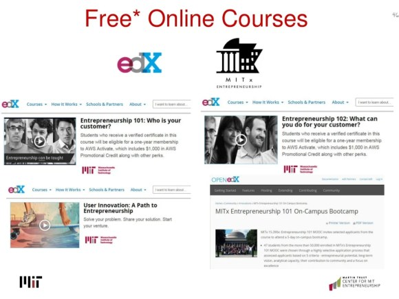 46 Free* Online Courses