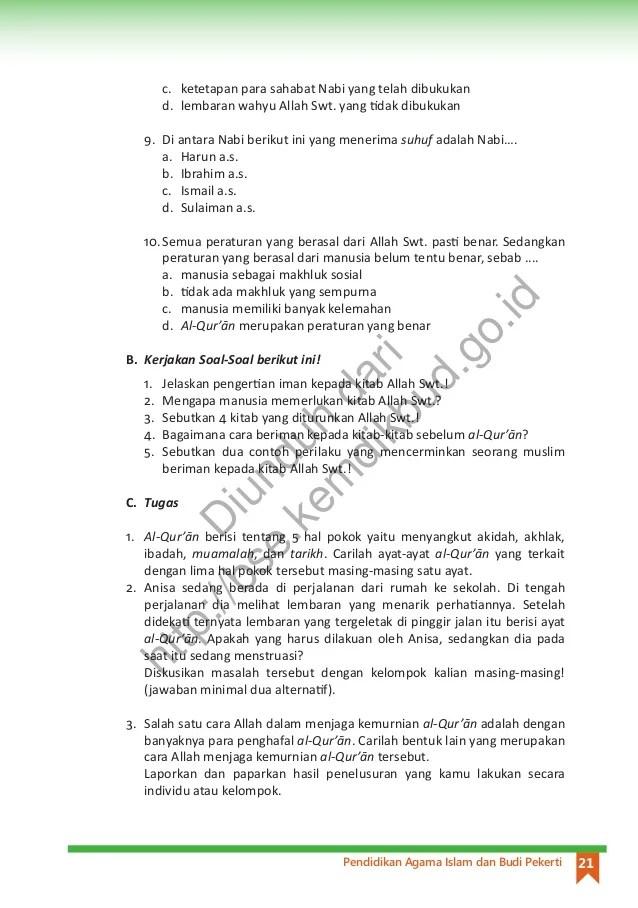 Arti dari zakat adalah … a. Pendidikan Agama Islam Dan Budi Pekerti Buku Siswa Kls 8
