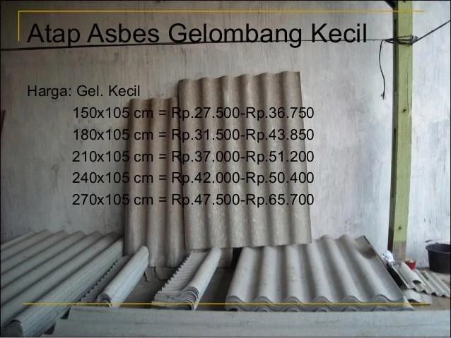 Image Result For Ukuran Asbes Gelombang Kecil