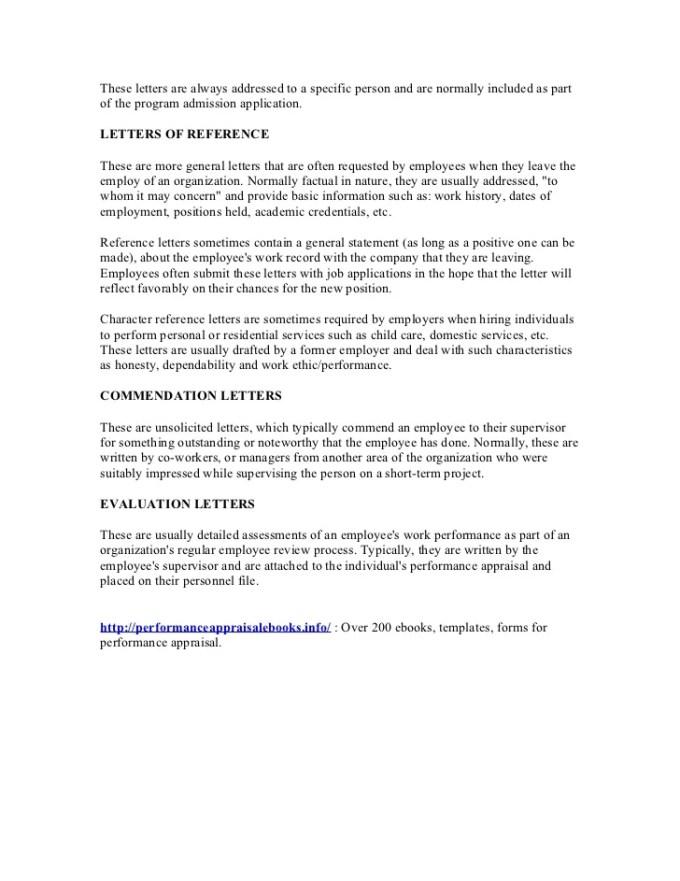 Performance review sample letter employees textpoems performance evaluation letter altavistaventures Choice Image