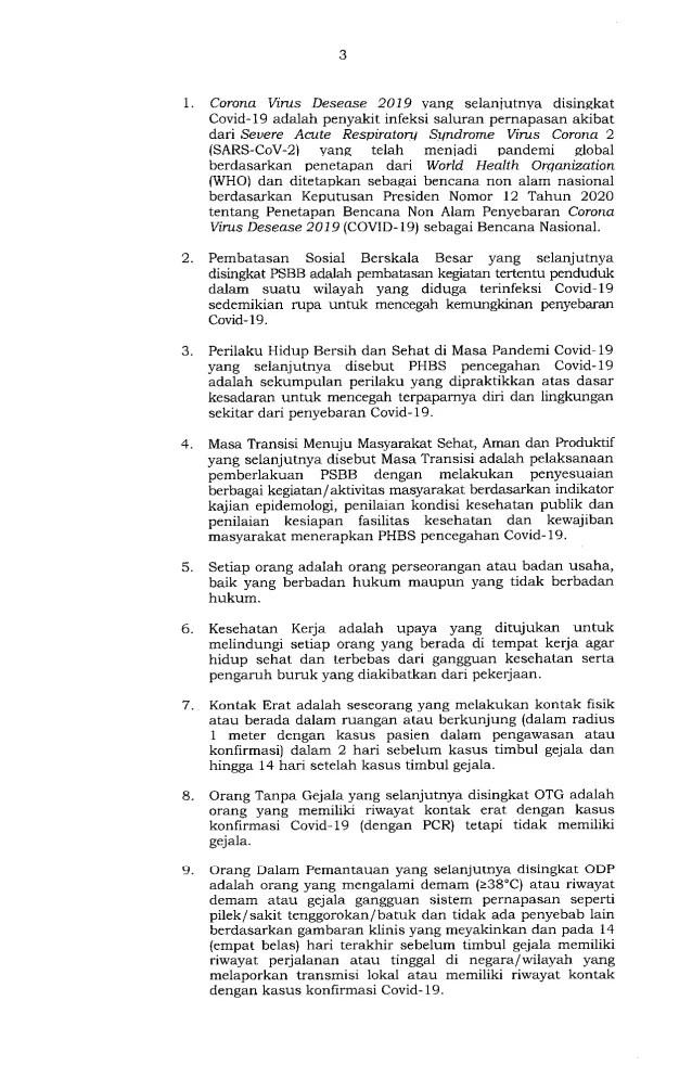Gubernur Anies Keluarkan Pergub soal Pelaksanaan PSBB Transisi, Ini Isinya 3