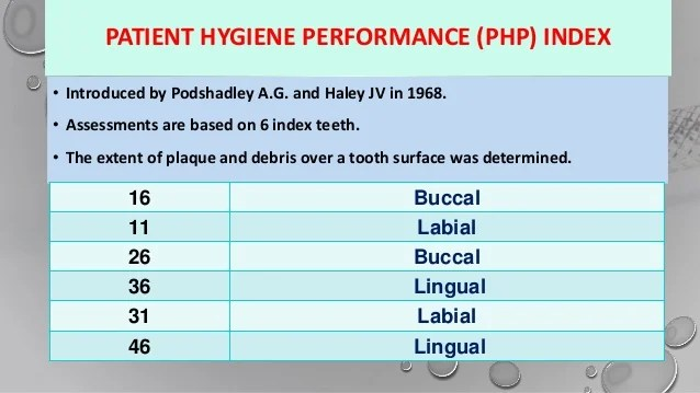 Periodontal Indices Final