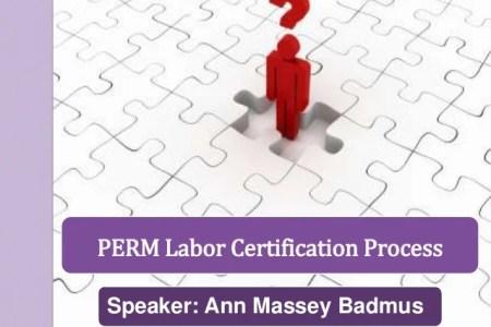 Free Resume 2018 » perm labor certification status   Free Resume