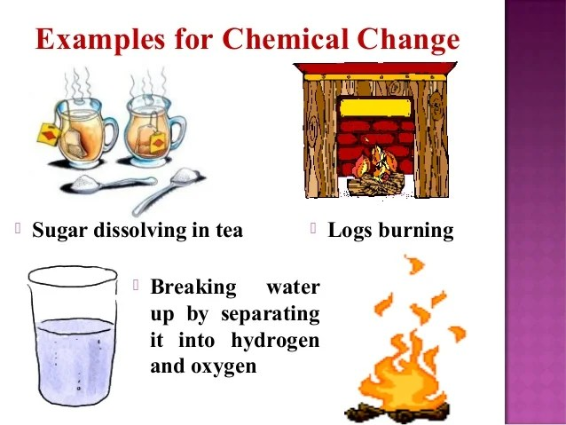 They Are How And Physical Substance Used Changes And Chemical What Are