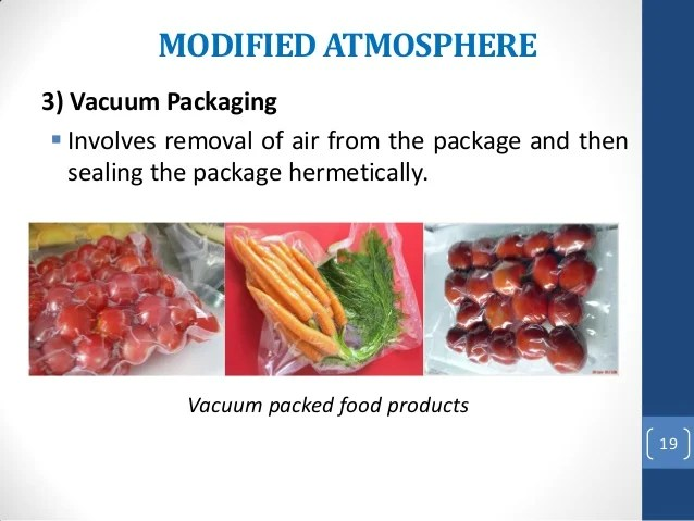 Physical methods of food preservation