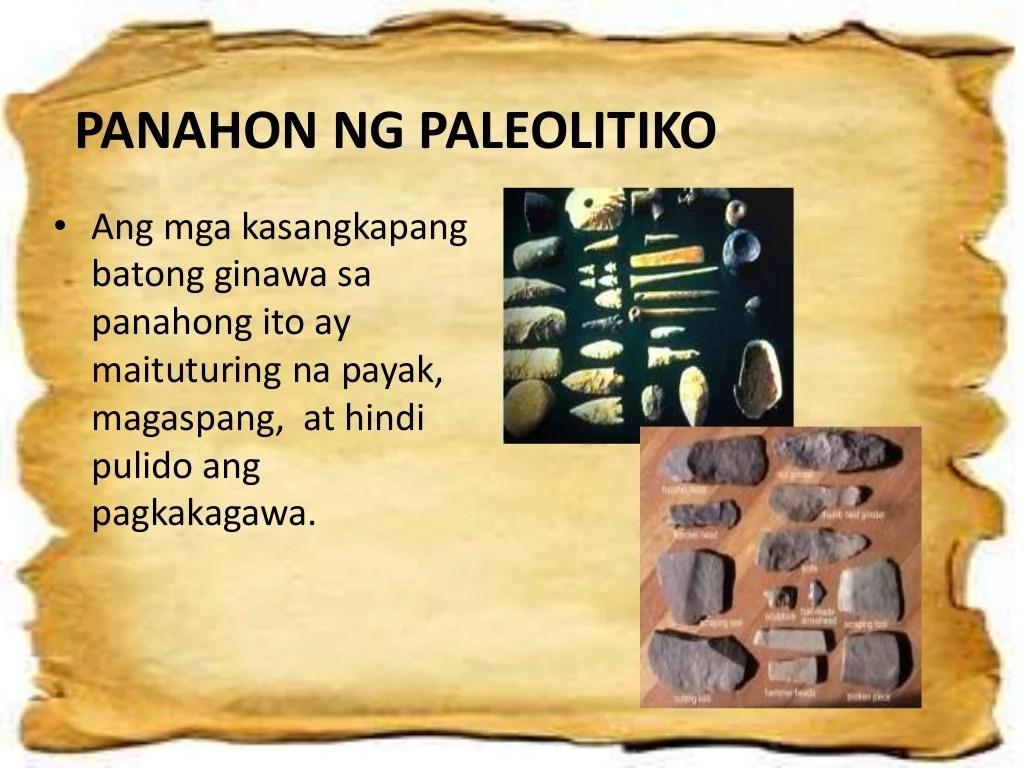 Pag Unlad Ng Kultura Ng Sinaunang Vtao Vpanahon Ng Bato